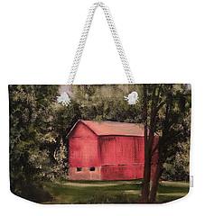 Sunlit Barn Weekender Tote Bag by Sharon Schultz