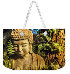 Sunlit Buddha 2015 Weekender Tote Bag