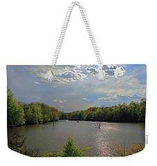 Sunlit Clouds Weekender Tote Bag