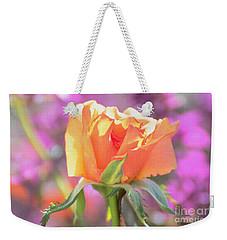 Sunlit Rose Weekender Tote Bag by Debby Pueschel