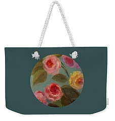 Sunlit Roses Weekender Tote Bag by Mary Wolf