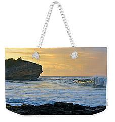 Sunlit Waves - Kauai Dawn Weekender Tote Bag