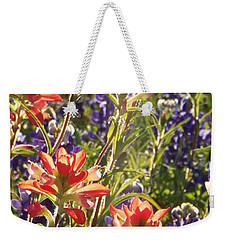 Sunlit Wild Flowers Weekender Tote Bag