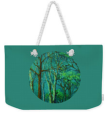 Sunlit Woodland Path Weekender Tote Bag