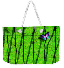 Weekender Tote Bag featuring the photograph Sunning by Paul Wear
