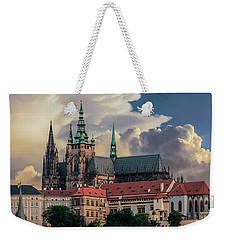 Sunny Afternoon In Prague Weekender Tote Bag