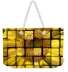Weekender Tote Bag featuring the photograph Sunny Composition by Christina Verdgeline