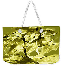 Weekender Tote Bag featuring the digital art Sunny Day by Asok Mukhopadhyay
