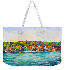 Summer In Skaneateles Ny Weekender Tote Bag