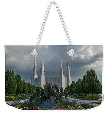 Sunny Day With Clouds Weekender Tote Bag
