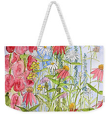 Sunny Days Weekender Tote Bag by Laurie Rohner