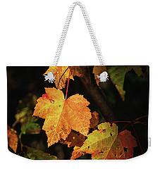 Sunny Leaves Weekender Tote Bag