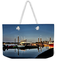 Sunny Morning At Onset Pier Weekender Tote Bag
