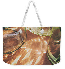 Weekender Tote Bag featuring the photograph Sunny Morning by Steven Huszar