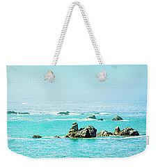Sunny Pacific Ocean Oregon Coast Weekender Tote Bag