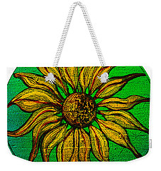 Weekender Tote Bag featuring the painting Sunny by Patricia Arroyo