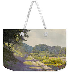 Sunny Road To The Forest Weekender Tote Bag