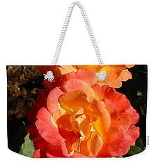 Sunny Roses Weekender Tote Bag