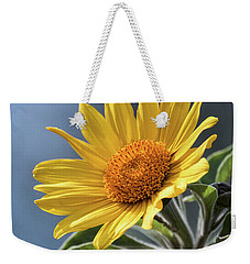 Weekender Tote Bag featuring the photograph Sunny Side Up  by Saija Lehtonen