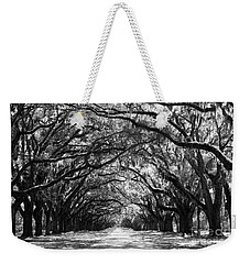 Sunny Southern Day - Black And White Weekender Tote Bag
