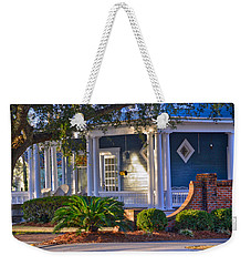 Weekender Tote Bag featuring the photograph Sunny Southern Morning by Linda Brown