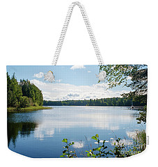 Sunny Summer Day In Kangaslampi Finland Weekender Tote Bag