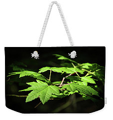 Sunny Summer Maple Weekender Tote Bag