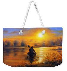 Sunny Way Weekender Tote Bag by Vesna Martinjak