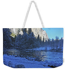 Weekender Tote Bag featuring the photograph Sunny Winter Day 01 13 17 by Walter Fahmy