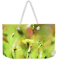 Sunny Yellow Flower Weekender Tote Bag