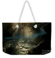 Sunrays At Fork River Weekender Tote Bag by Iris Greenwell