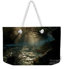 Sunrays At Fork River Weekender Tote Bag