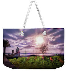 Sunrays River Weekender Tote Bag