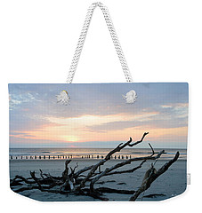 Weekender Tote Bag featuring the photograph Sunrise @ Pea Island by Barbara Ann Bell