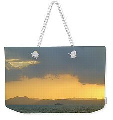 Sunrise After The Typhoon Weekender Tote Bag