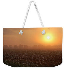 Sunrise And The Cotton Field Weekender Tote Bag