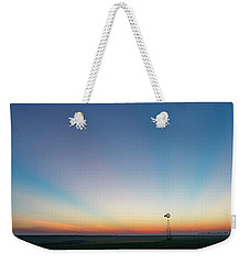 Sunrise And Windmill 03 Weekender Tote Bag