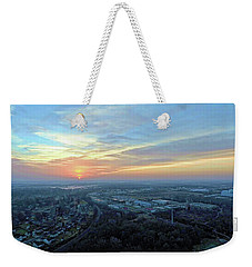 Sunrise At 400 Agl Weekender Tote Bag