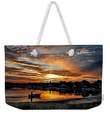 Sunrise At Back Cove Weekender Tote Bag