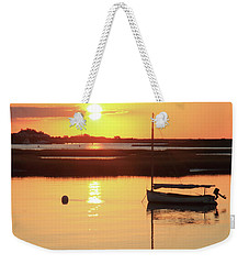 Sunrise At Bass River Weekender Tote Bag by Roupen  Baker
