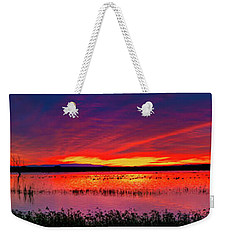 Sunrise At Bosque Del Apache Weekender Tote Bag