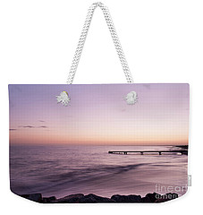 Weekender Tote Bag featuring the photograph Sunrise At Busselton by Ivy Ho