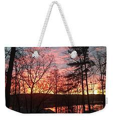 Sunrise At Carolina Trace Weekender Tote Bag