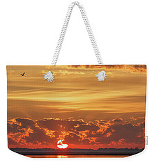 Sunrise At Cheyenne Bottoms 02 Weekender Tote Bag