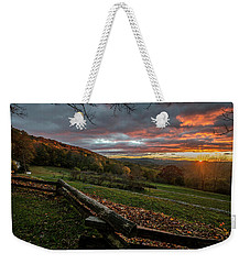 Sunrise At Cone House Weekender Tote Bag