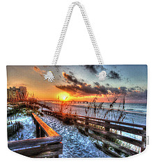 Sunrise At Cotton Bayou  Weekender Tote Bag