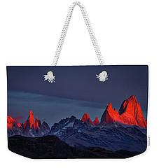 Sunrise At Fitz Roy #2 - Patagonia Weekender Tote Bag