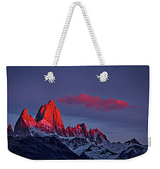 Sunrise At Fitz Roy #3 - Patagonia Weekender Tote Bag