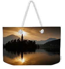 Sunrise At Lake Bled Weekender Tote Bag