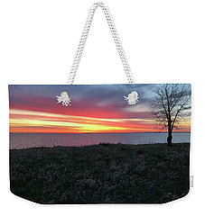 Sunrise At Lake Sakakawea Weekender Tote Bag